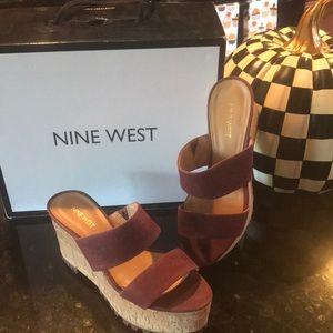 Nine West NWVASSILY DK RED LE